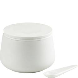 Cukierniczka porcelanowa z łyżeczką Nordic Skagerak S1600255