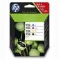 HP oryginalny ink X4E14AE, HP 934XL, CMYK, high capacity, HP Officejet 6812, 6815, 6820, OJ Pro 6230, ePrinter