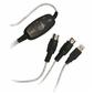 Redukcja 2.0, USB A  M- 5 pin 2x F, 0m, czarna