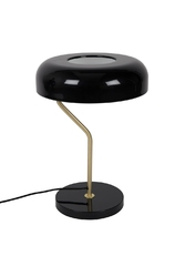 Dutchbone :: Lampa stołowa ECLIPSE - czarna