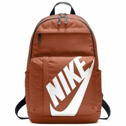 NIKE Plecak Szkolny Sportswear Elemental Backpack BA5381-246 - Odcień pomarańczowego rudy