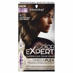 Schwarzkopf, Color Expert, farba do włosów, 4.0 Chłodny Brąz