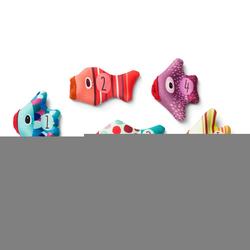 LILLIPUTIENS Mini - pacynki na palec do kąpieli Rybki 5 el. 9 m+