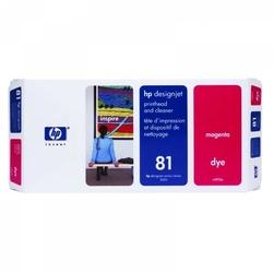 HP oryginalny głowica drukująca C4952A, HP 81, magenta, HP DesignJet 5000, PS, UV, 5500, PS, UV