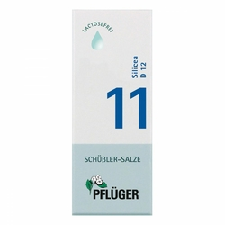 Biochemie Pflueger 11 Silicea D 12 Tropfen