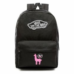 Plecak VANS Realm Backpack Custom Pink lama - VN0A3UI6BLK - Pink