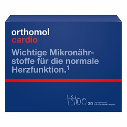 Orthomol Cardio Granulat + Kapsułki + Tabletki
