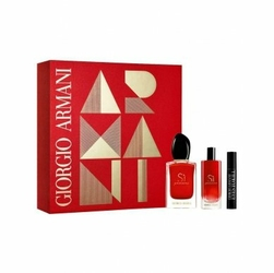 SET Armani Si Passione W edp 50ml + edp 15ml + mascara
