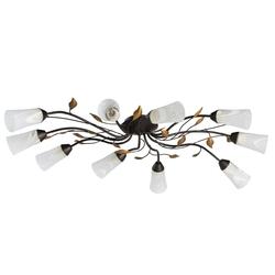 Niepowtarzalna lampa sufitowa ze zdobieniami DeMarkt Flora 242015410