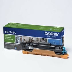 Brother oryginalny toner TN247C, cyan, 2300s, Brother DCP-L3510CDW, DCP-L3550CDW, HL-L3210CW,HL-L3270CDW