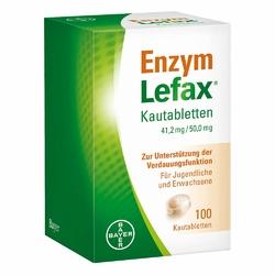 Enzym Lefax Kautabl.