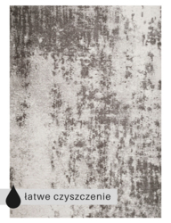 Carpet Decor :: Dywan Lyon Gray 160x230cm - 160x230cm