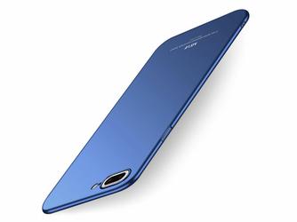 Etui MSVII Thin Case do Apple iPhone 8 Plus Granatowe + Szkło - Granatowy