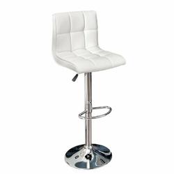 INTERIOR SPACE :: Hoker  Krzesło barowe Mutina New białe
