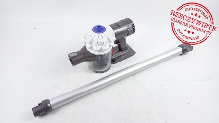 Odkurzacz DYSON V6 Up TOTAL CLEAN 211979-01 - Klasa 1  srebrny || czerwony