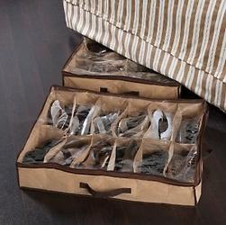 Organizer na obuwie 12 par, pod łóżko