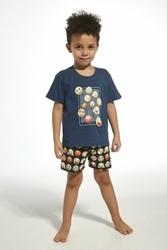 Cornette 78976 kids emoticon jeans piżama chłopięca