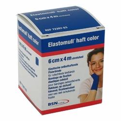 Elastomull 4mx6cm opaska uciskowa niebieska