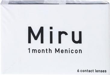 Miru 1month Menicon, 6 szt.