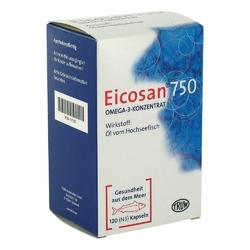 Eicosan 750 Omega 3 Konzentrat Kapseln