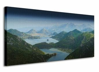 Lake Skadar - Obraz na płótnie