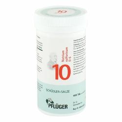 Biochemie Pflueger 10 Natrium sulfur.D 6 Tabl.