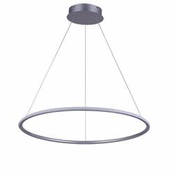 Altavola Design :: Lampa wisząca Ledowe Okręgi No. 1 60 srebrna in 3k - srebrny