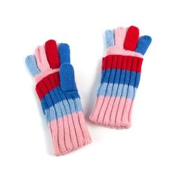 Rękawiczki colour pink - PINK