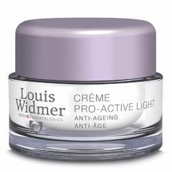 Louis Widmer Pro-Active krem pielęgnacja na noc, nieperfum