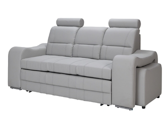 Sofa rozkładana Katmandu z pojemnikiem i pufami