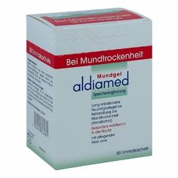 Aldiamed Mundgel zur, zum Speichelergänzung Einmalsachets