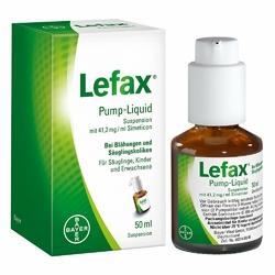 Lefax na wzdęcia, płyn w pompce