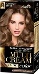 Joanna Multi Cream Color, farba do włosów, 33 naturalny blond