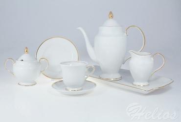 Garnitur do kawy dla 12 osób  40 części - G067 ASTRA Złota Wstęga