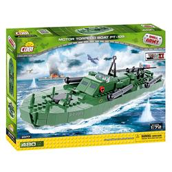 Small Army Motor Torpedo Boat 480 klocków