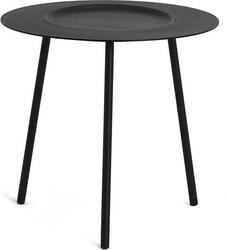 Stolik kawowy Woodplate mały czarny