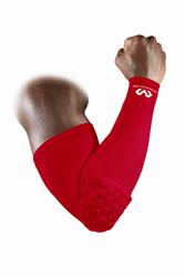 Rękaw na łokieć McDavid HEX Power Shooter Arm Slee - Czerwony