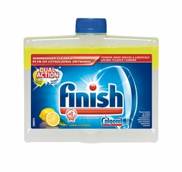 Finish Calgonit, Cytrynowy, środek do czyszczenia zmywarki, 250ml