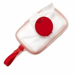 Pojemnik na mokre chusteczki Swipes Red