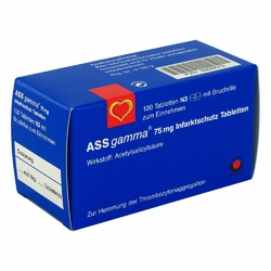Ass Gamma 75 mg Tabl.