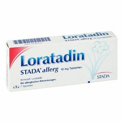 Loratadin Stada 10 mg Allerg Tabl.