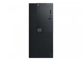 Dell Komputer Optiplex 3060MT Win10P  i3-8100  4GB  SSD 256GB  Intel UHD 630  DVD RW  No Wifi  3Y NBD
