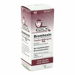 Bromhexin Krewel Meuselb.tropfen 12mgml