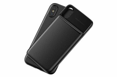 Etui Baseus ładowarka QI i Power Bank iPhone X Xs Czarny