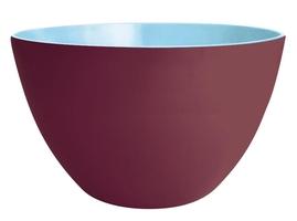 Dwukolorowa salaterka kasztanowo-niebieska 28 cm Zak Designs