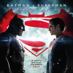 Batman vs Superman Dawn of Justice - oficjalny kalendarz 2017