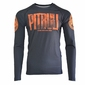 Koszulka Pit Bull West Coast Rashguard Orange Dog