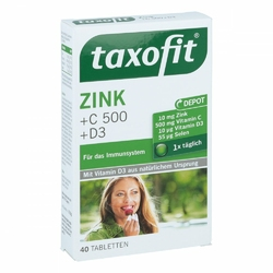 Taxofit Cynk+ wit. C 500+ Selen+ wit. D3 tabletki