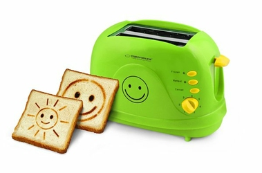Esperanza Toster opiekacz do kanapek i grzanek Smiley 750W