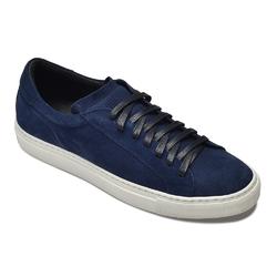 Granatowe zamszowe sneakersy VAN THORN 42